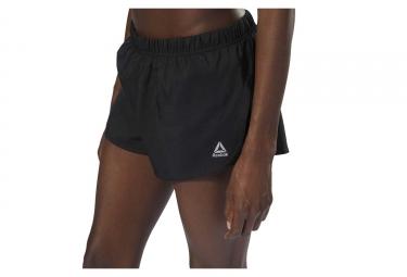 Reebok Running 2-en-1 Mujeres Shorts Negro