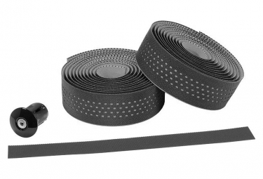 Ergotec San Remo Lenkerband Schwarz Grau