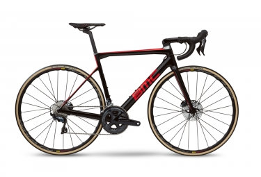 Velo de route bmc 2019 teammachine slr01 four disc shimano ultegra 11v noir rouge 56