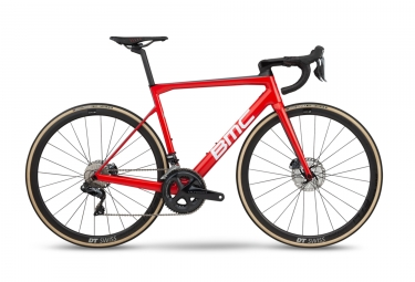 Velo de route bmc 2019 teammachine slr01 three disc shimano ultegra di2 11v rouge no