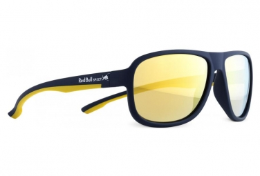 Redbull Spect Eyewear Loop Polarized Sunglasses matt dark blue / yellow / brown / Gold