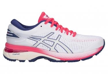 d9b5f755f8f Chaussures de Running Femme Asics Gel-Kayano 25 Blanc   Rose