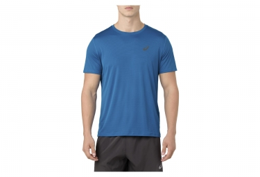 Maillot manches courtes asics silver bleu homme s