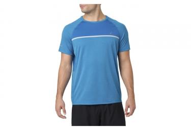 Jersey de manga corta Asics azul