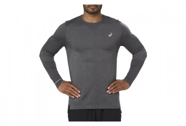 Maillot Manches Longues Asics Gris Homme