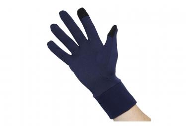 Gants Asics Hiver BASIC Bleu Noir Unisex