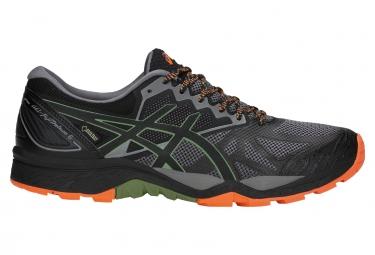 Zapatillas Asics Gel-FujiTrabuco 6 GTX para Hombre Gris / Negro / Naranja
