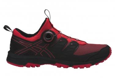 Zapatillas Asics Gel-FujiRado para Hombre Rojo / Negro