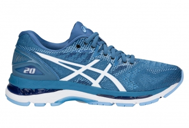 Asics Gel-Nimbus 20 Blue White Women