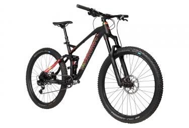 VTT Tout-Suspendu Rossignol All Track Trail Sram NX 11v 27.5 Noir Mat Rouge 2018