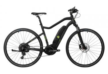 Rossignol E-Touring Bike E-Track 700M Sram NX 11v 700c Black Grey 2018