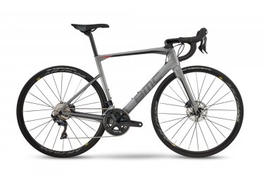 Velo de route bmc 2019 roadmachine 02 two disc shimano ultegra 11v gris 56 cm 177 18