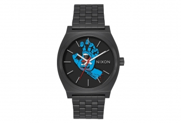 Montre nixon time teller santa cruz screaming hand noir