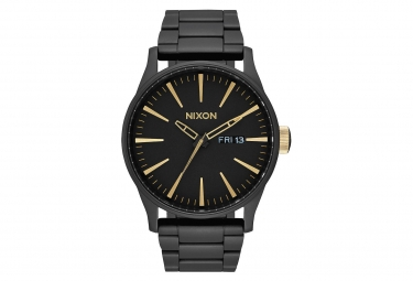 Nixon Sentry SS Matte Black / Gold