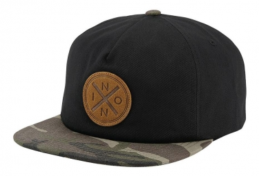 Casquette nixon beachside snap back noir camo