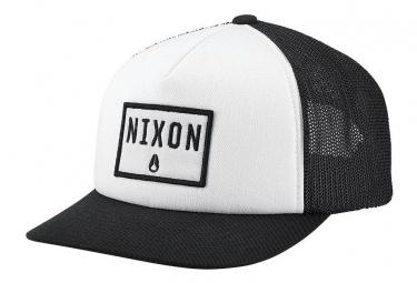 Nixon Bend Trucker Hat Black