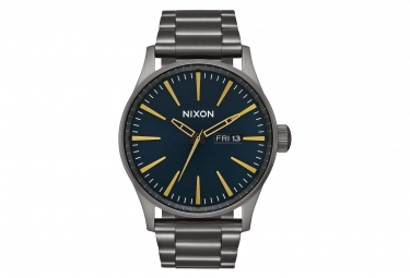 Nixon Sentry SS Watch Gunmetal / Indigo