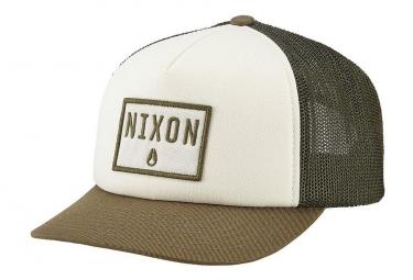 Nixon Bend Trucker Hat Covert