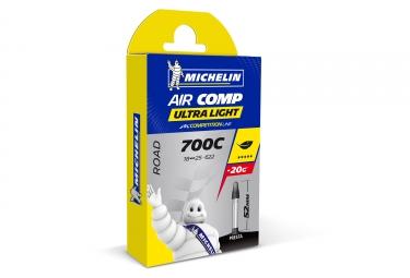 Chambre à Air Allégée Michelin Aircomp Ultralight Presta 52 mm
