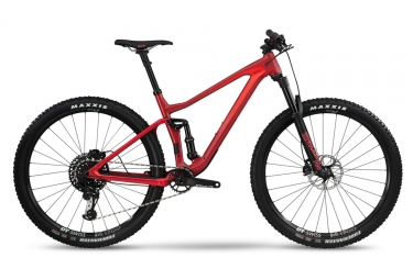 Vtt tout suspendu bmc 2019 speedfox 02 one 29 sram gx eagle 12v rouge l 180 190 cm