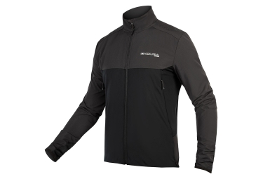 Maillot Manches Longues Endura MT500 Thermo Noir Gris Anthracite