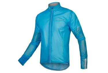 Endura Adrenaline Race FS260-Pro II Waterproof Jacket Neon Blue