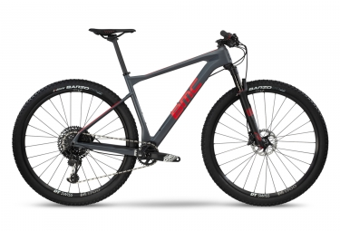 VTT Semi Rigide BMC 2019 Teamelite 02 One Sram GX Eagle 12V Gris / Rouge
