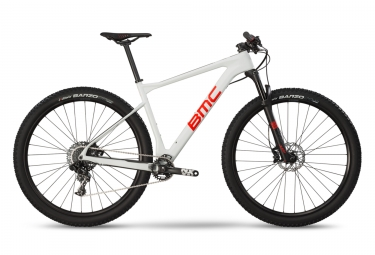 VTT Semi Rigide BMC 2019 Teamelite 02 Three Sram NX 11V Blanc / Rouge