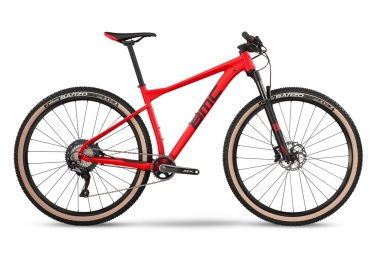 Vtt semi rigide bmc 2019 teamelite 03 one shimano slx 11v rouge noir xl 188 198 cm