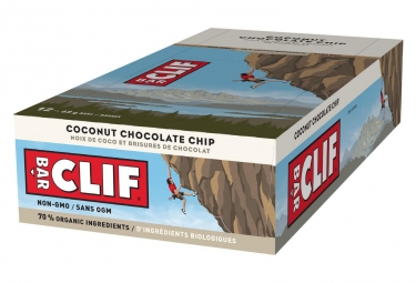 CLIF BAR Energy bar Cocunut Chocolate Chip x12
