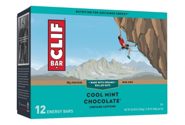 Clif Bar Cool Mint Chocolate Energy Bar x12