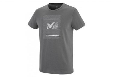 T-Shirt Manches Courtes Millet Rise Up Gris