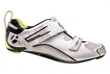 Chaussures triathlon bontrager hilo hommes blanc 48