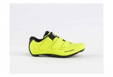 Chaussures route bontrager vostra femmes jaune haute visibilite 37