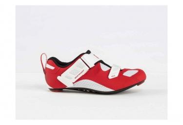 Chaussures Triathlon Bontrager Hilo Hommes Rouge/Blanc