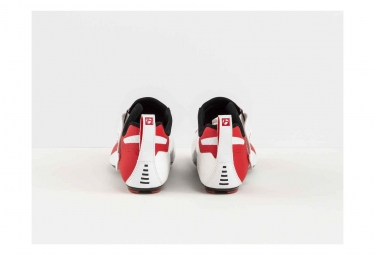 Bontrager Hilo Triathlon Shoes Blanc / Rouge 2018