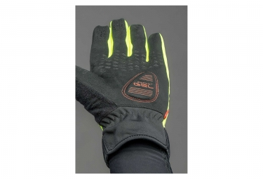 Gants Longs GripGrab CloudBurst Waterproof Jaune Fluo