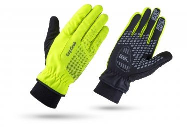 GripGrab Ride Windproof Winter Gloves Hi-Vis Yellow