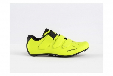 Chaussures route bontrager starvos jaune fluo 39