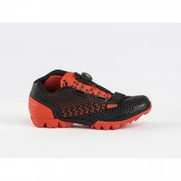 Chaussures vtt bontrager rhythm orange noir 40