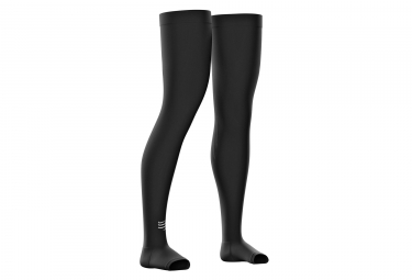 Compressport Total Full Leg Sleeve Black