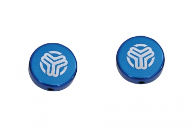 SB3 Bar End Plugs - Aluminium Blue