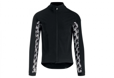 Assos Mille GT Jacket Ultraz Winter Thermal Jacket Black White