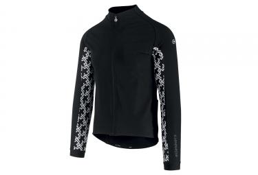 Veste Thermique Assos Mille GT Jacket Ultraz Winter Noir Blanc