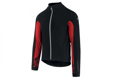 Assos Mille GT Jacket Ultraz Winter Thermal Jacket Black Red