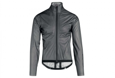 Assos Equipe RS Waterproof Jacket Black Gray