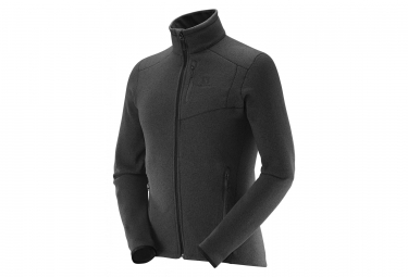 Salomon Bise Fleece Black