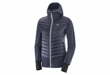 Salomon Haloes Down Hybrid Jacket Wo Graphite