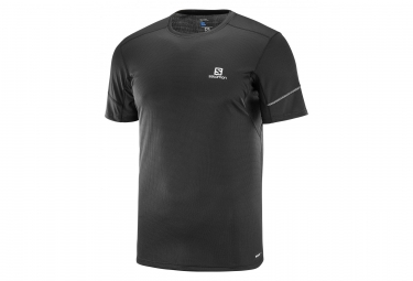 Salomon Agile Short Sleeve Jersey Black