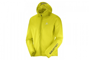 Veste impermeable salomon bonatti race jaune xl